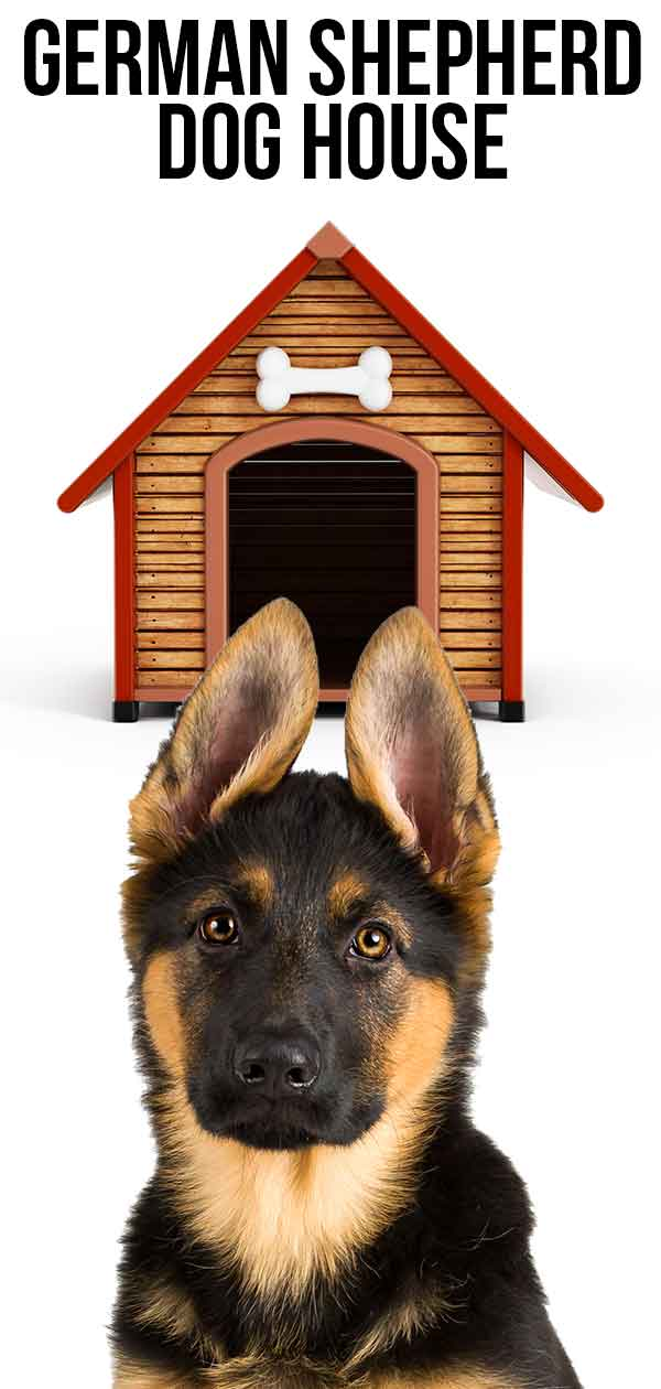 best german shepherd dog house