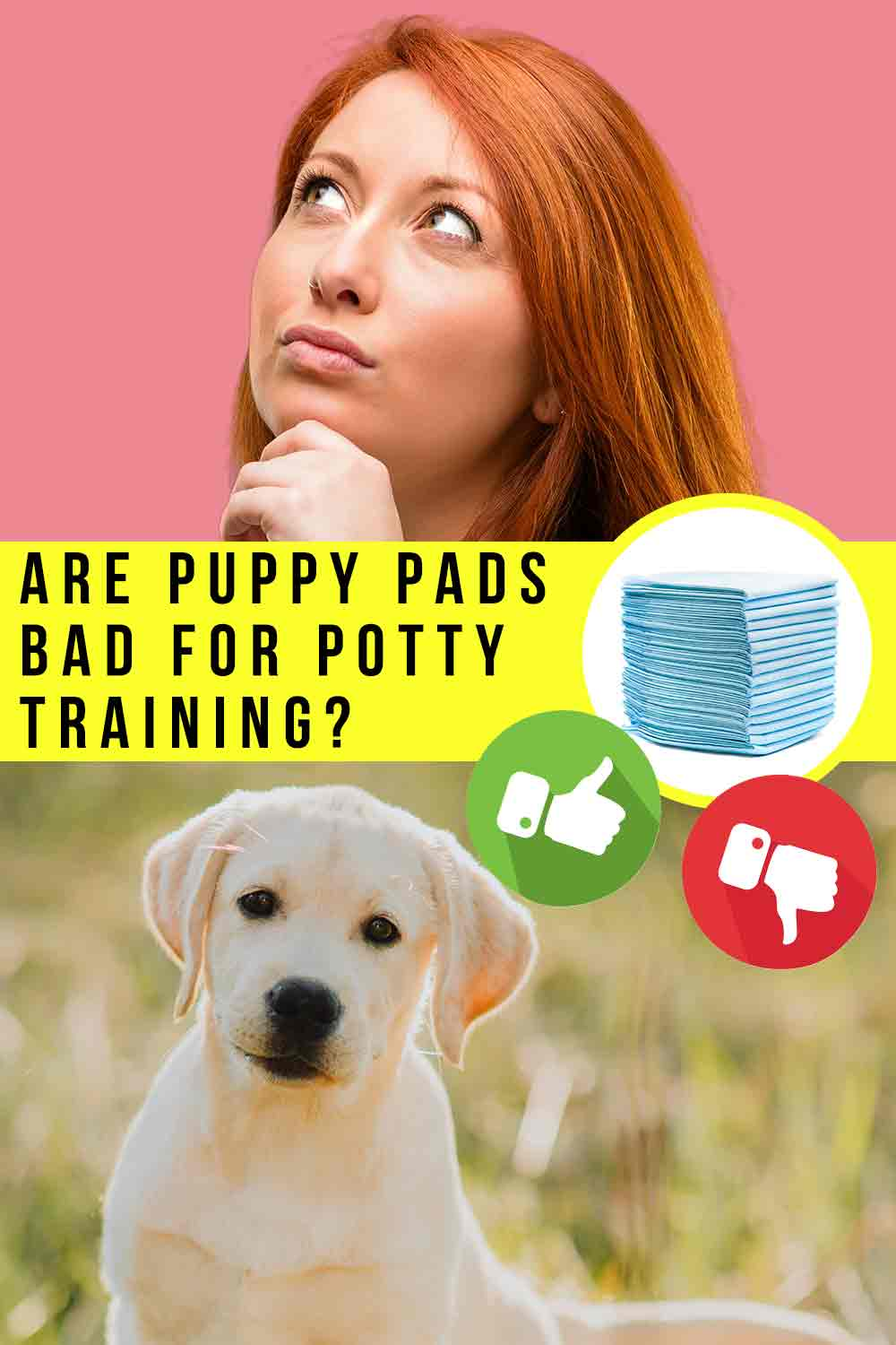 are puppy pads bad for potty training
